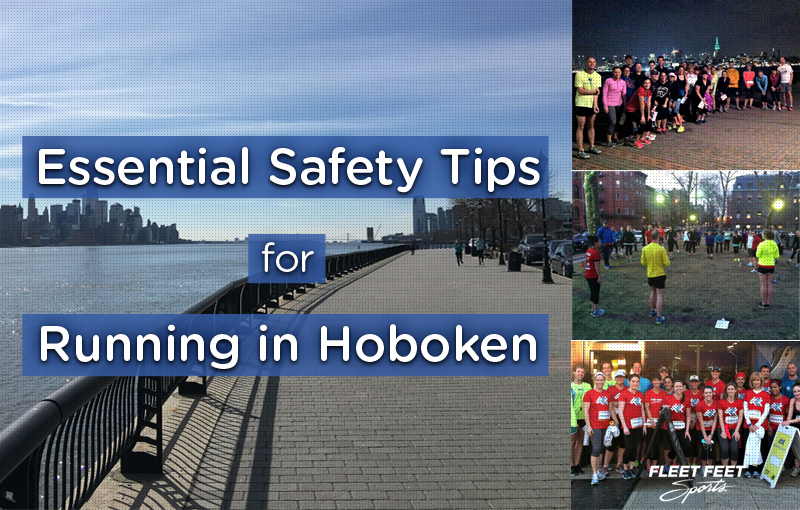 Piers and group runs in Hoboken