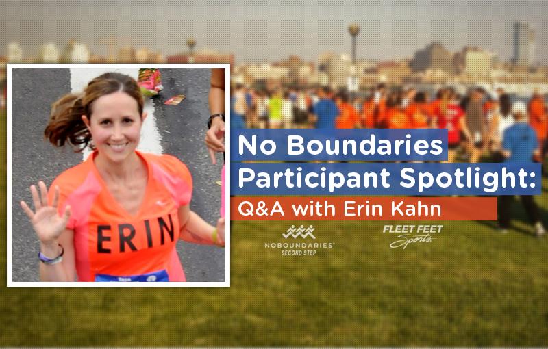 Erin Kahn running